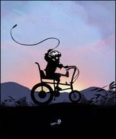 Ghost Rider Kid by AndyFairhurst