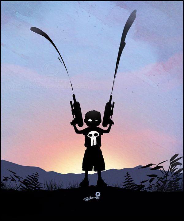 Punisher Kid by AndyFairhurst