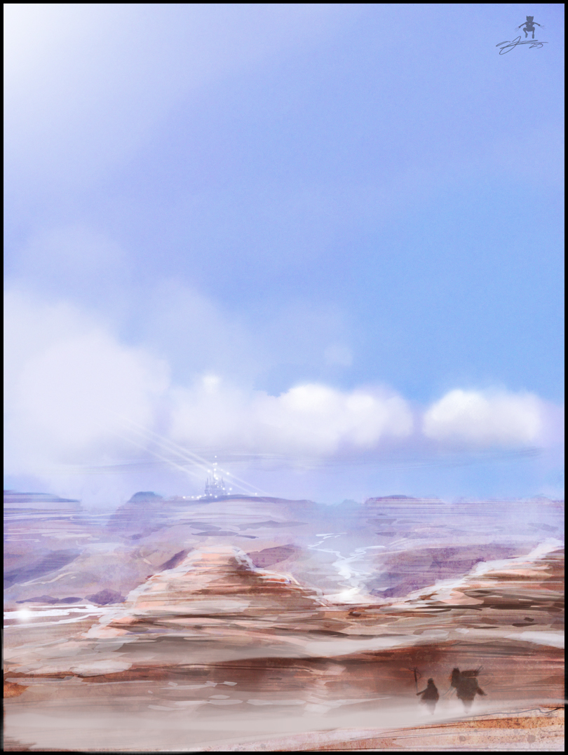 Canyon Speed Painting by AndyFairhurst
