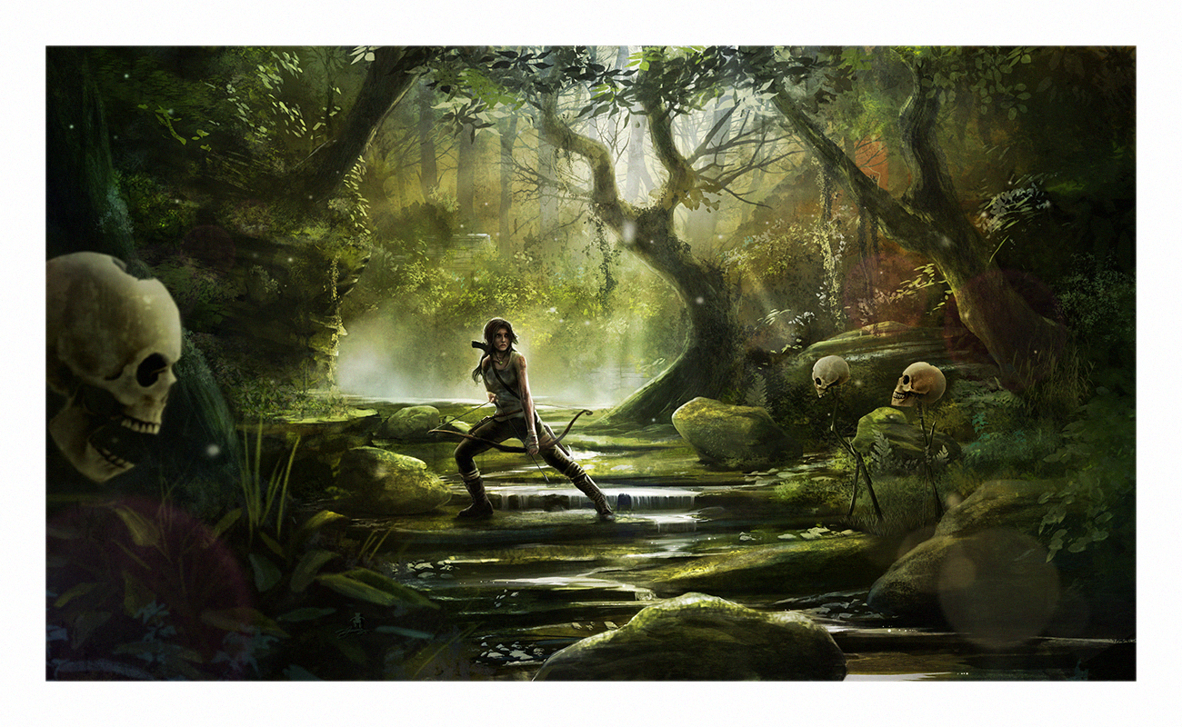 Lara Croft - Tomb Raider by AndyFairhurst