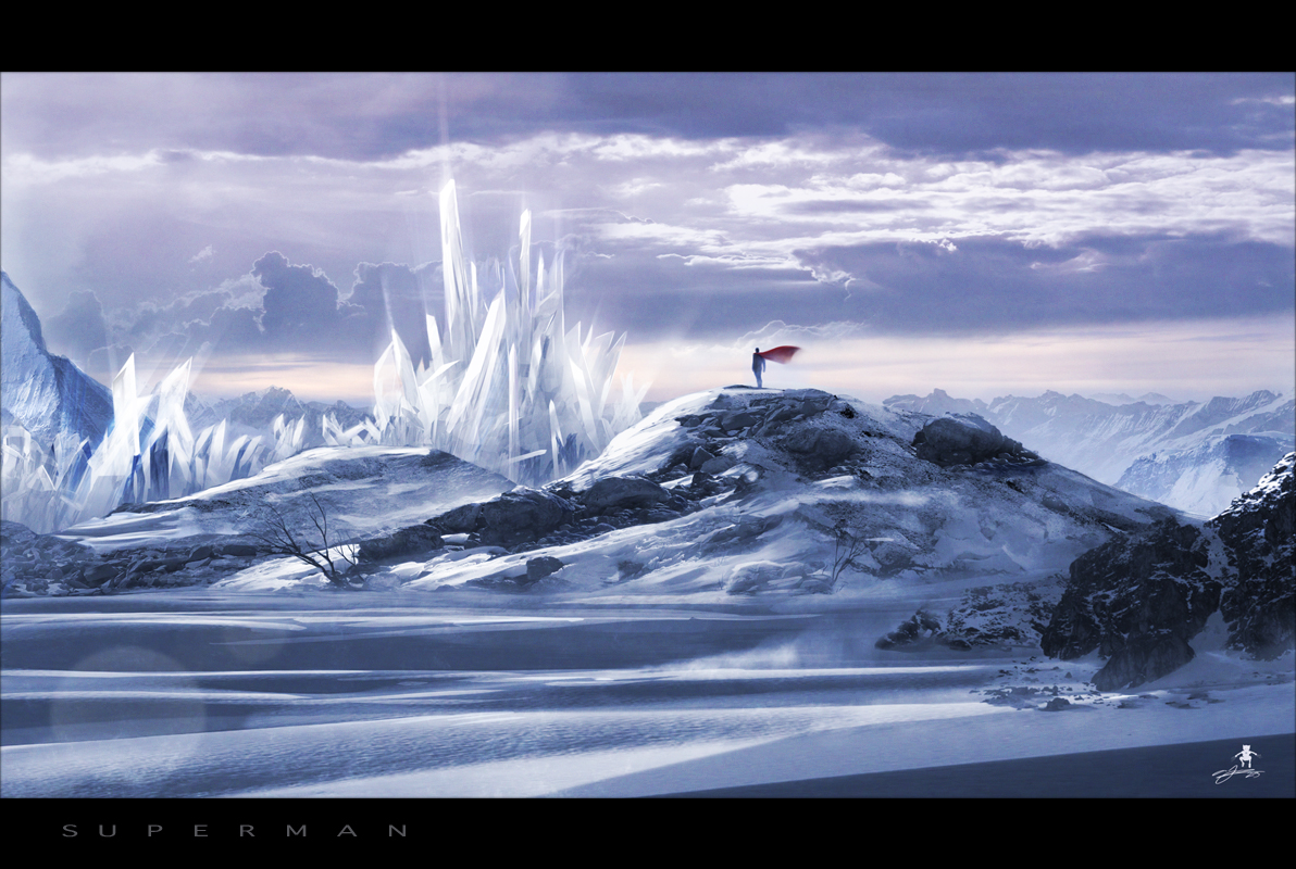 Superman : Fortress Of Solitude by AndyFairhurst