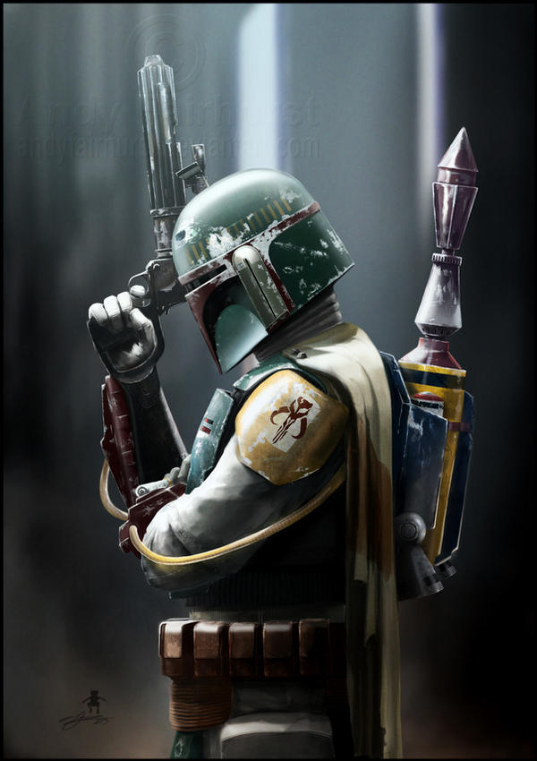 Boba Fett By AndyFairhurst On DeviantArt