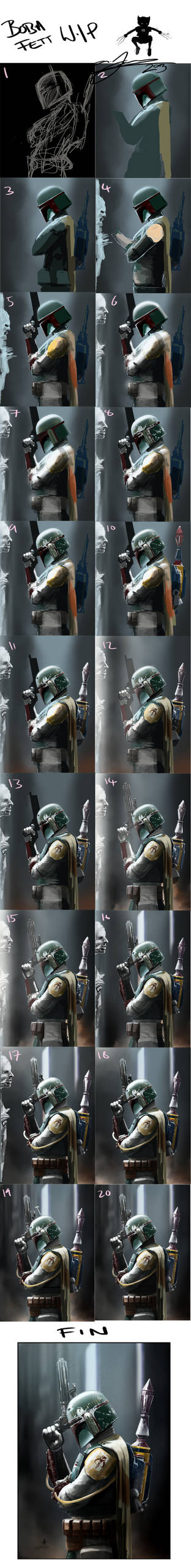 Boba Fett : Bounty Hunter W.I.P Stages