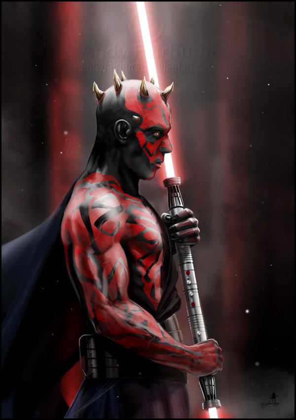 Darth Maul by AndyFairhurst