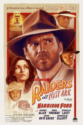 Raiders Of The Lost Ark by AndyFairhurst