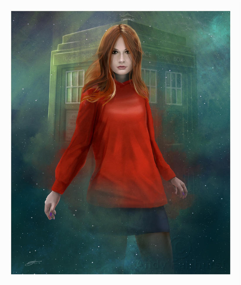 Amy Pond by AndyFairhurst