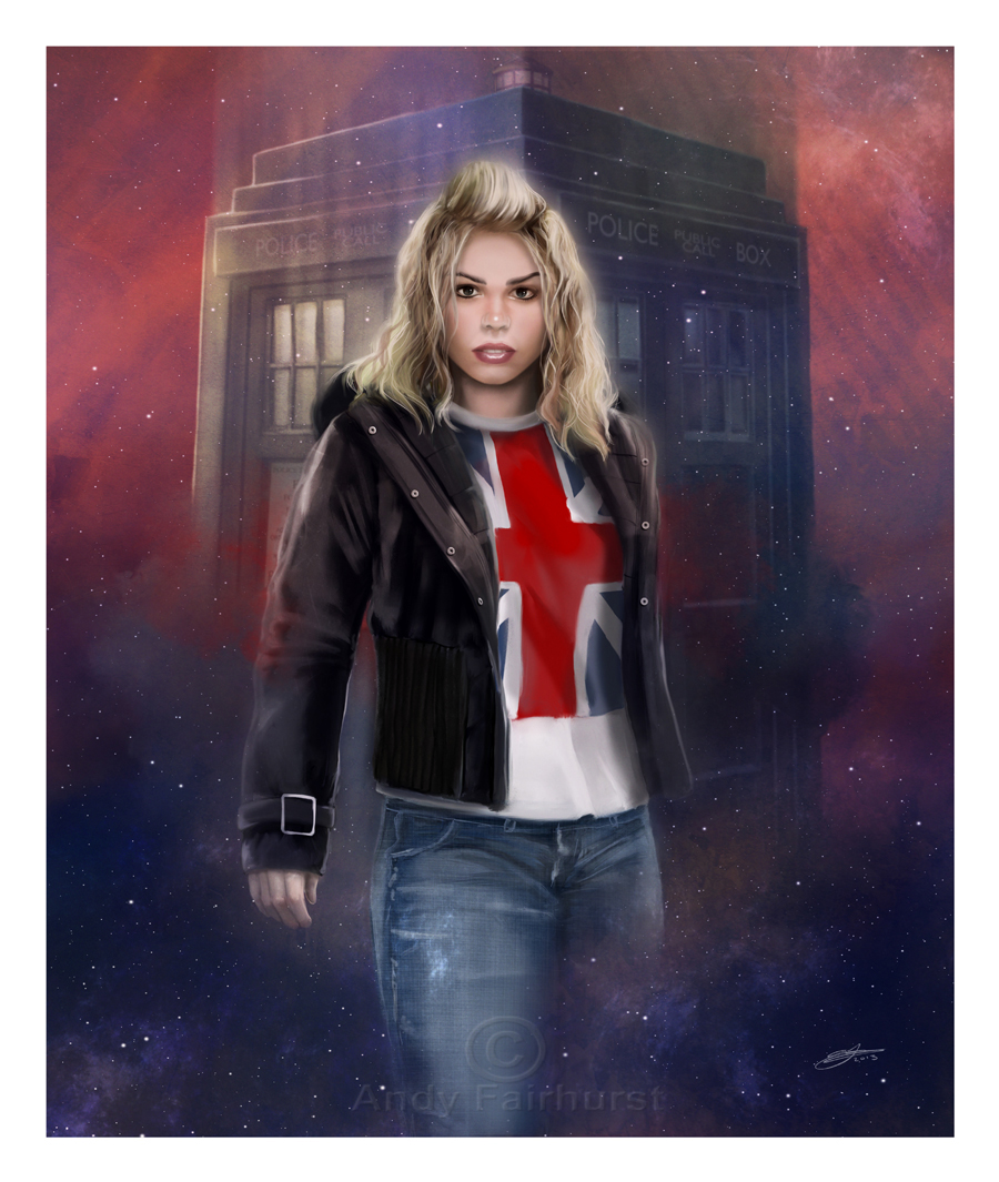 Rose Tyler by AndyFairhurst