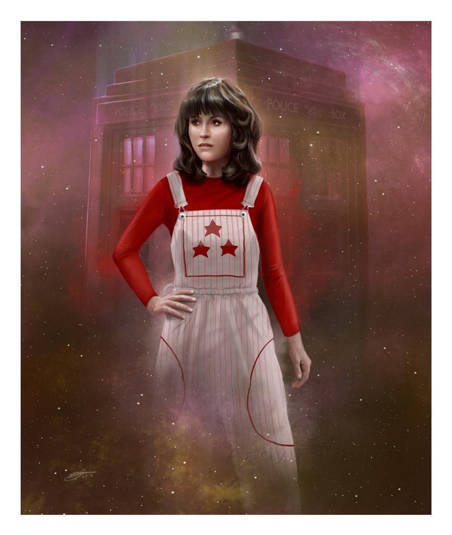 Sarah Jane Smith by AndyFairhurst