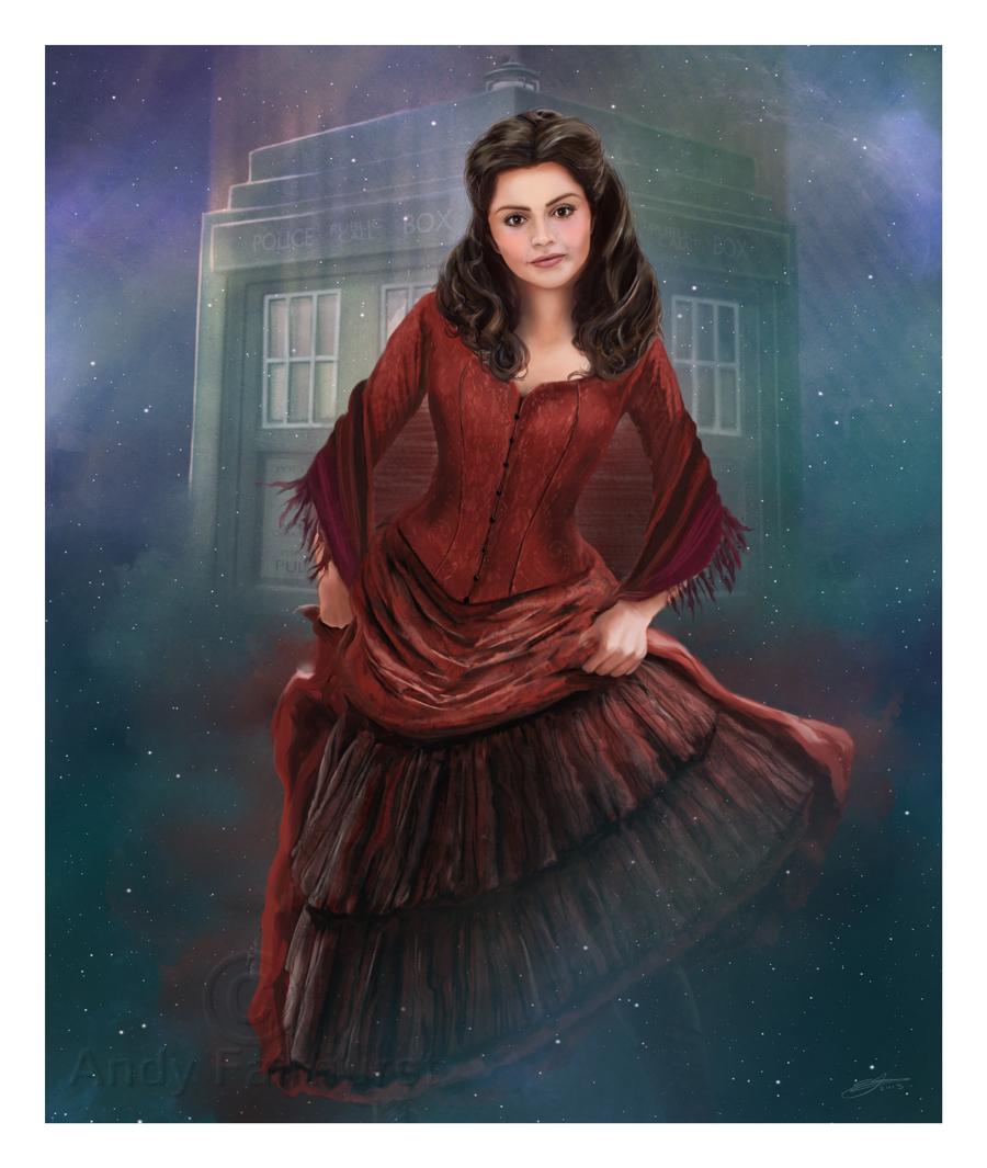 Clara Oswald by AndyFairhurst