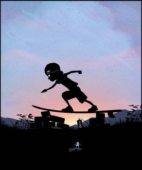 Silver Surfer Kid