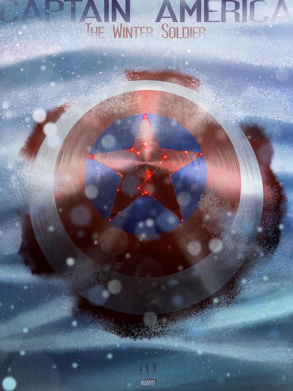 Captain America: The Winter Soldier by AndyFairhurst