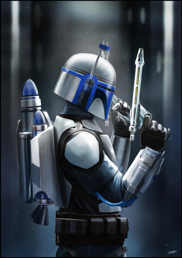 Jango Fett : Bounty Hunter by AndyFairhurst