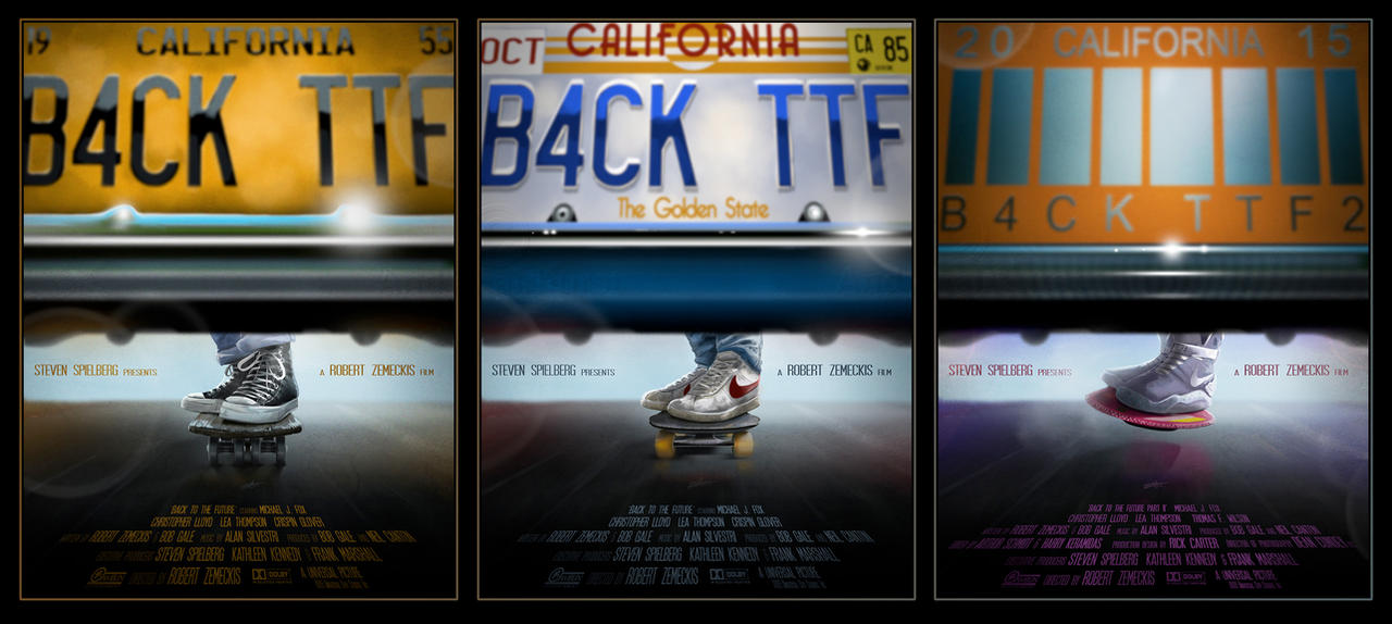 Back To The Future By AndyFairhurst On DeviantArt