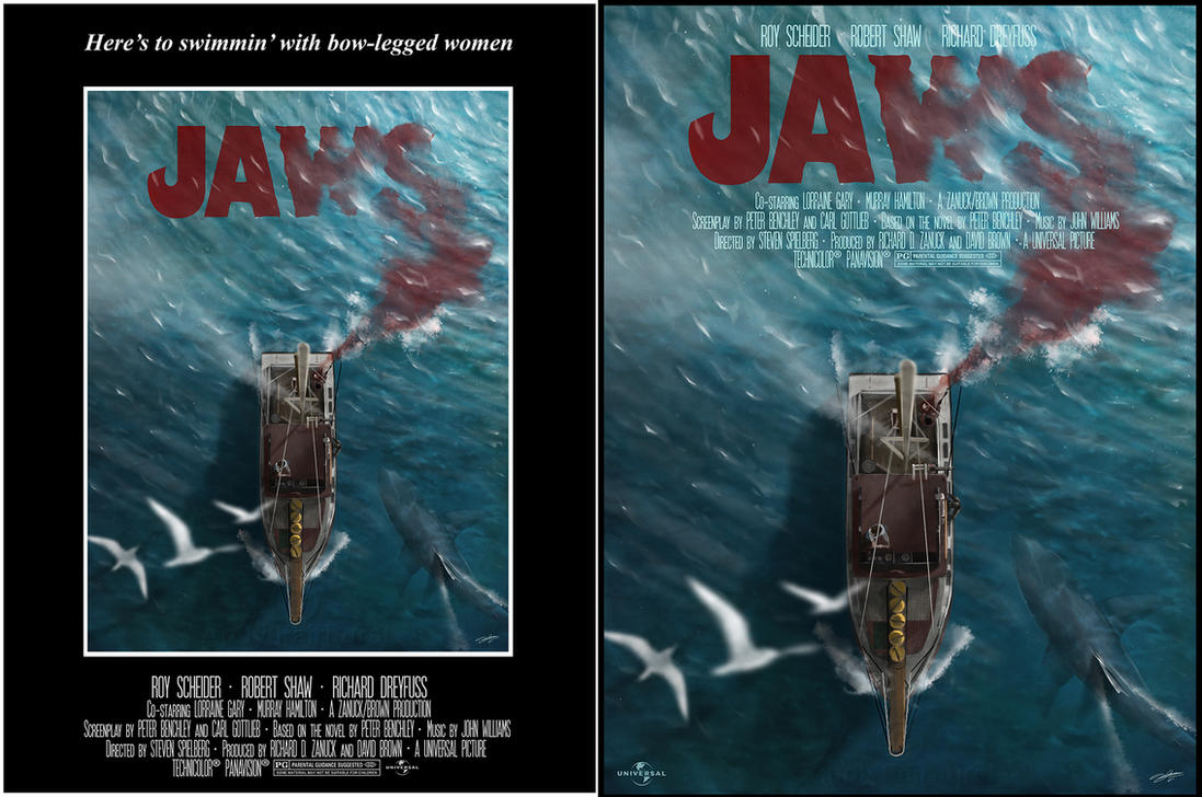 Jaws by andyfairhurst on deviantart for Buy art posters online