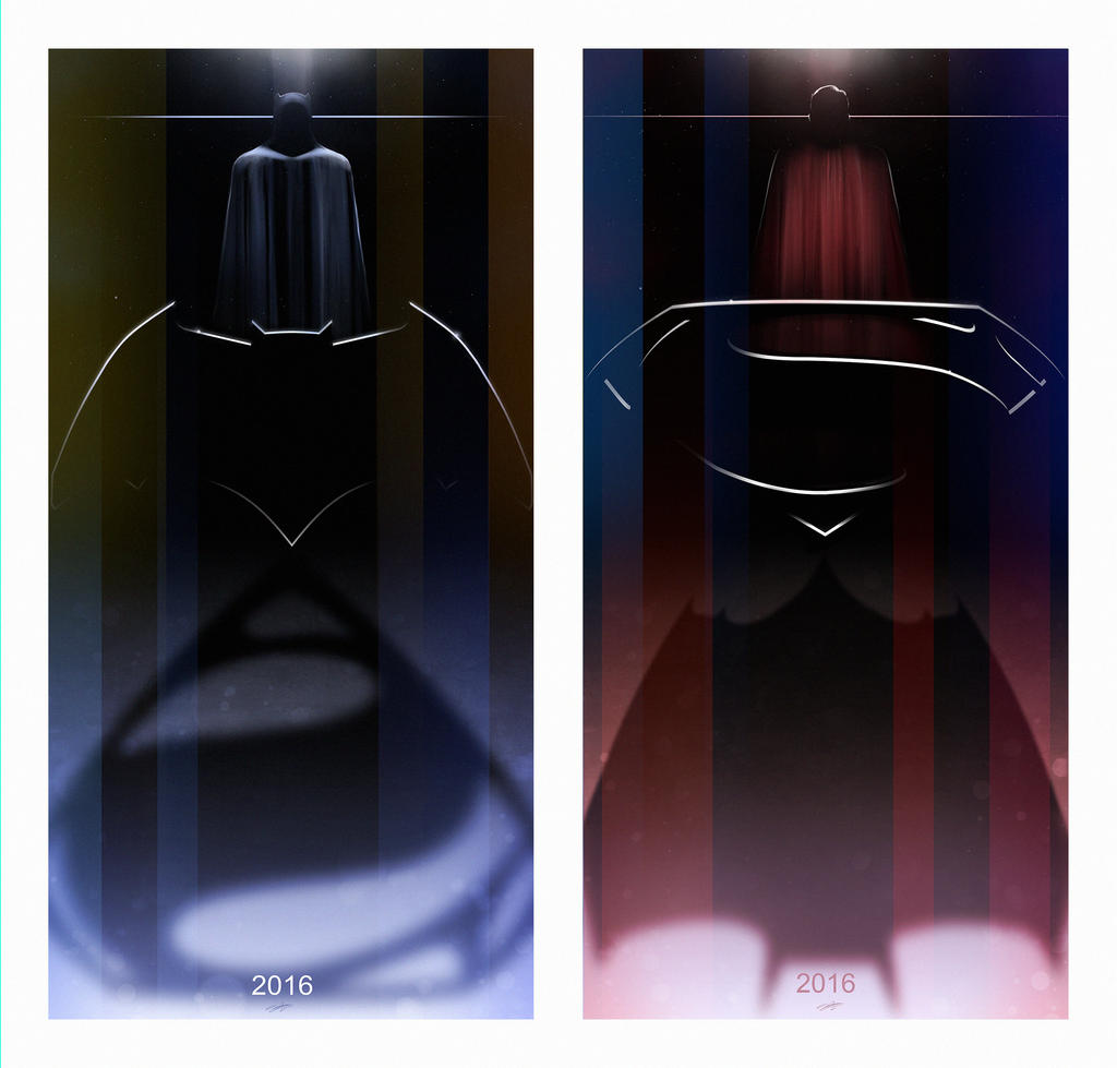 Batman v Superman by AndyFairhurst