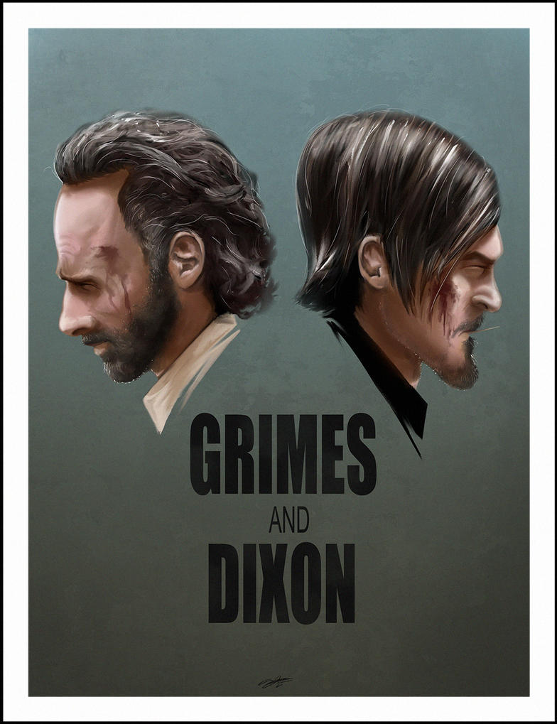 Grimes And Dixon - colour version by AndyFairhurst