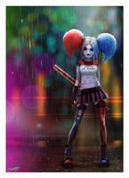 Harley Quinn by AndyFairhurst