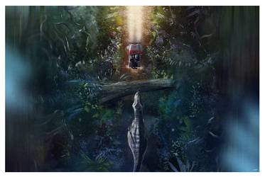 Jurassic Park ( Nerds Eye View ) by AndyFairhurst