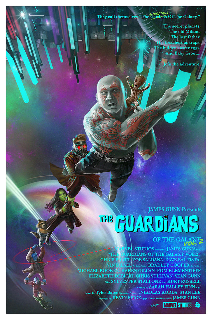 Guardians of the Galaxy Never Say Die by AndyFairhurst