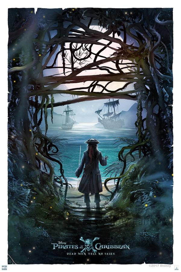Pirates Of The Caribbean: Dead Men Tell No Tales by AndyFairhurst