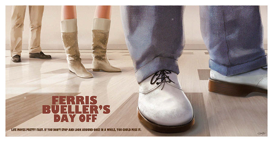 Ferris Bueller's Day Off by AndyFairhurst