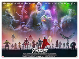 Avengers: Infinity War by AndyFairhurst