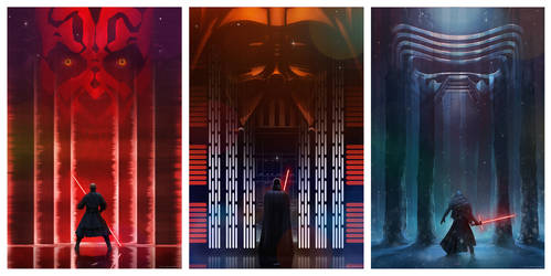 Star Wars Perspectives Set#4 by AndyFairhurst