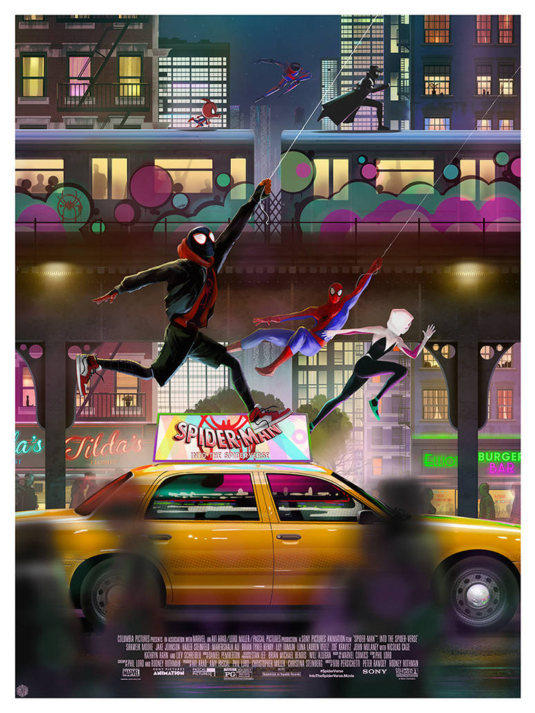 Spider-Man: Into The Spider-Verse by AndyFairhurst