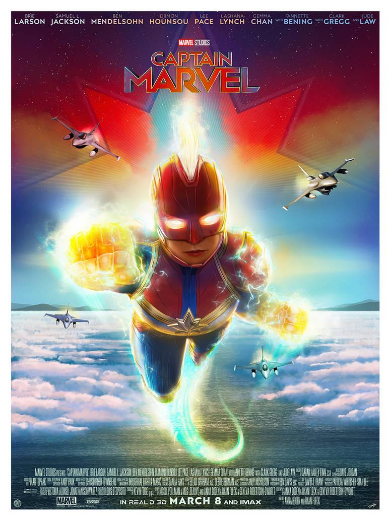 Captain Marvel by AndyFairhurst