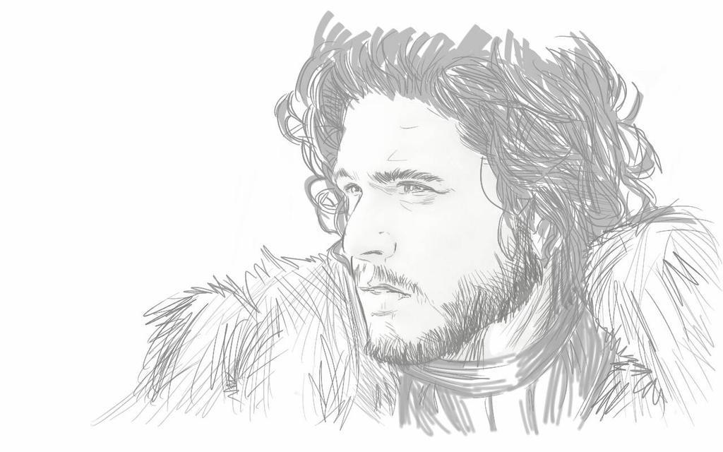 jon snow by jamesdinoy