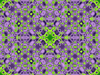 Some Kind Of Green/Purple Tile by MDude