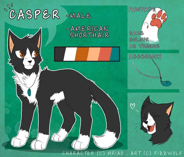 Casper :Ref: by Mriao