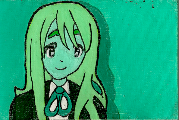 Mugi-Chan Mini Canvas by awilli182