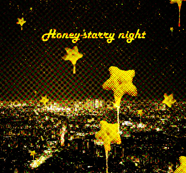 honey-starry night by xiruxiru