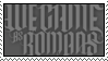 we came as romans stamp by boneworks