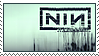 nine inch nails stamp by boneworks