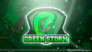 Logo E-Sports (Green Storm) 2016