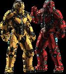 Cyrax and Sektor