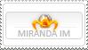 Miranda IM stamp by odioART