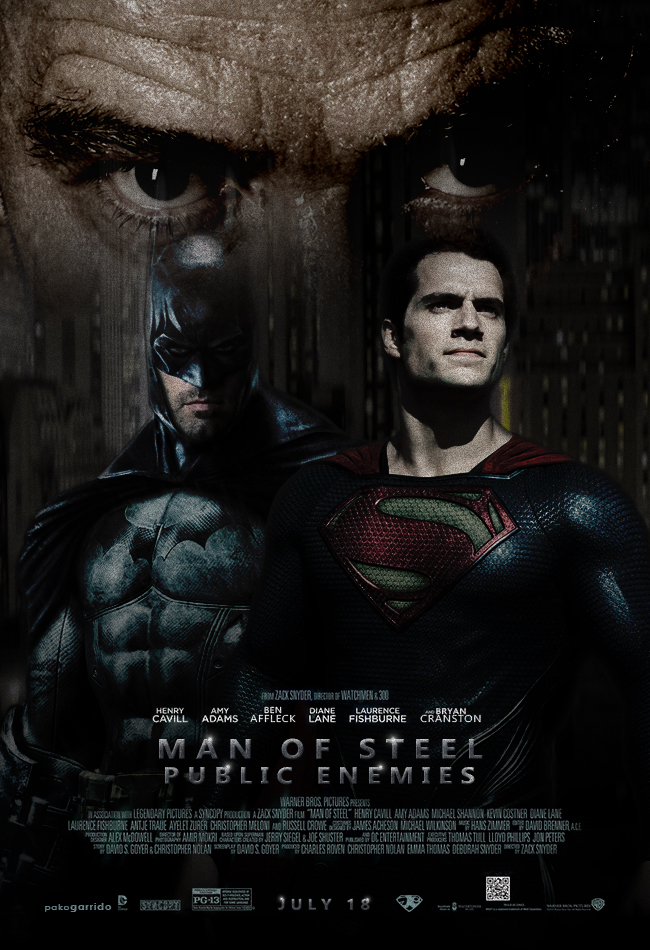 Man Of Steel: Public Enemies by Pako-Speedy