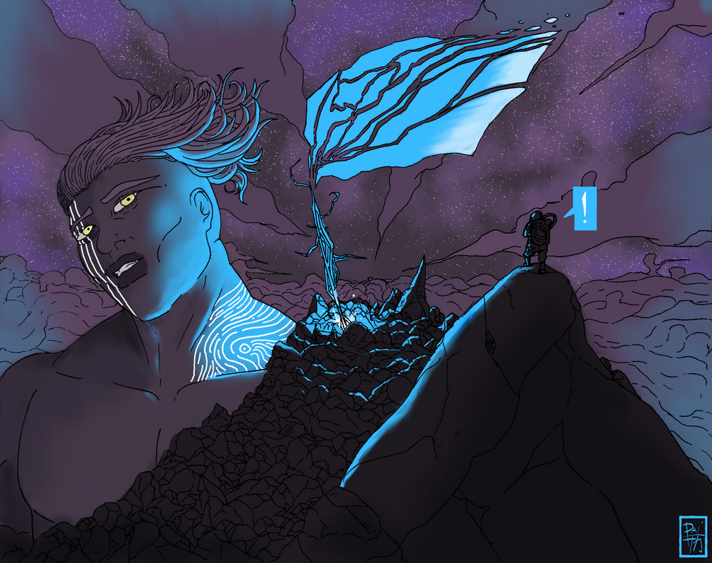 Titan of the Night by DaiSaka