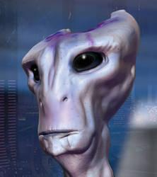 Mass Effect: Salarian Portrait