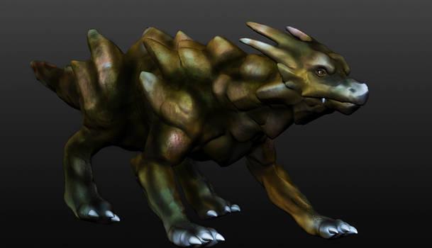 Stone Dragon Sculpt