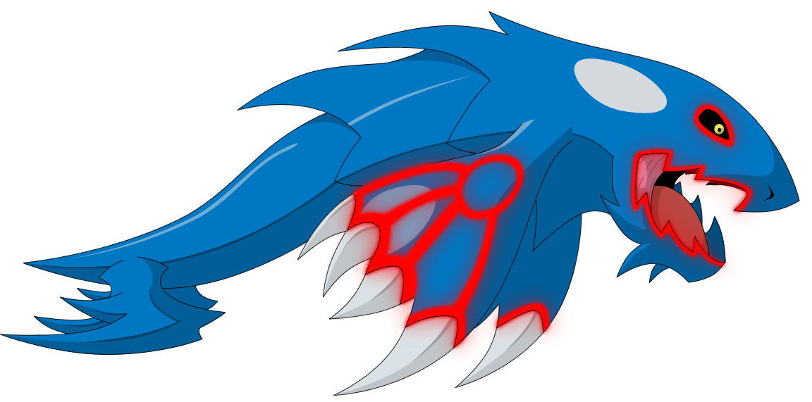 Kyogre Dragon Forme by KingofAnime-KoA on DeviantArt