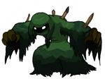 Swamp Zombie Grass-Dark Pokemon