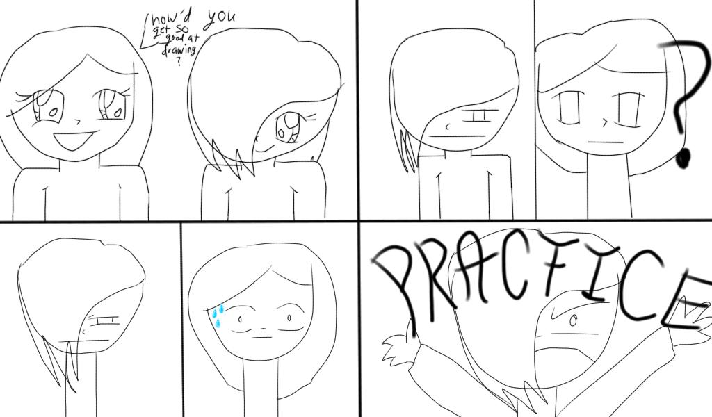 Practice. PRACTICE by PencilMarks-youtube