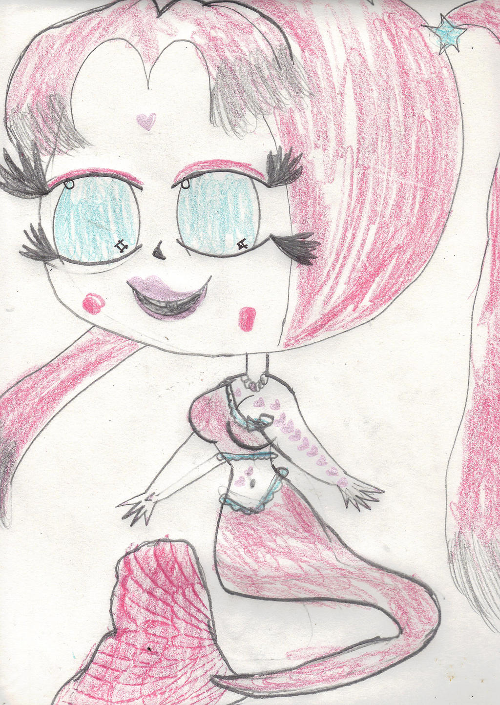 Oyster Pinkblue by AkaiChounokoe