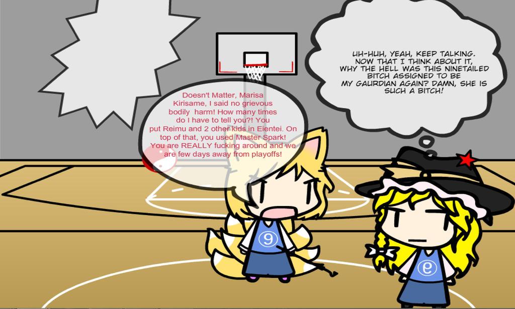 Gensokyo Basketball II: No Greivious Bodily Harm! by AkaiChounokoe