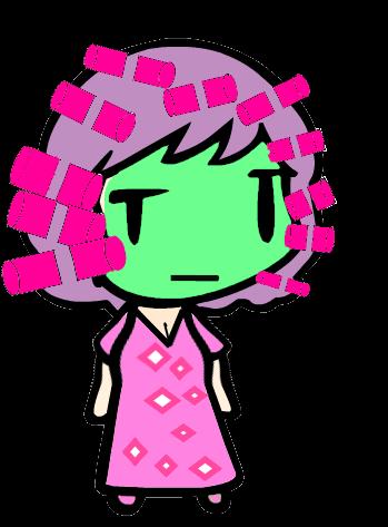 Just for Fun: Rei in pajamas by AkaiChounokoe