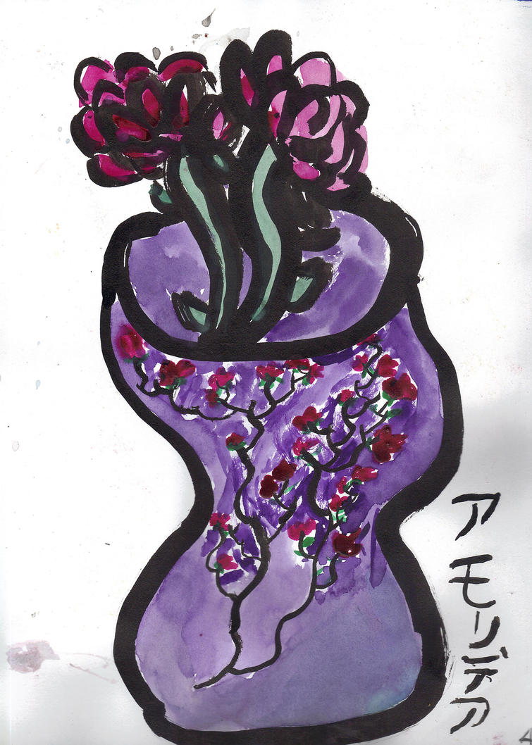 Blossom Vase by AkaiChounokoe